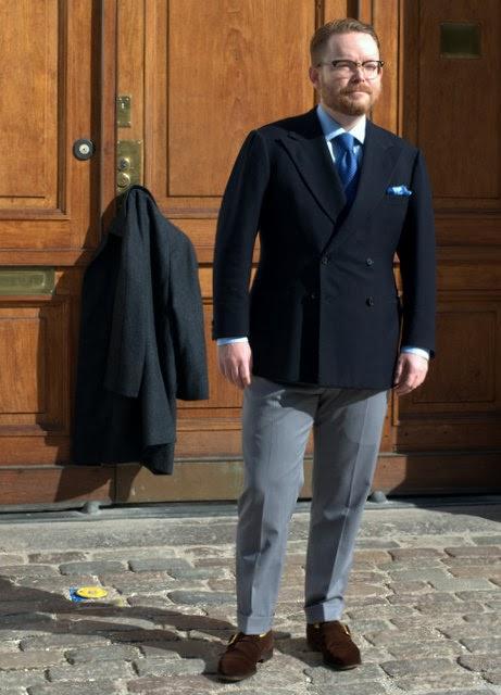 alfred alm skræddersyet jakkesæt