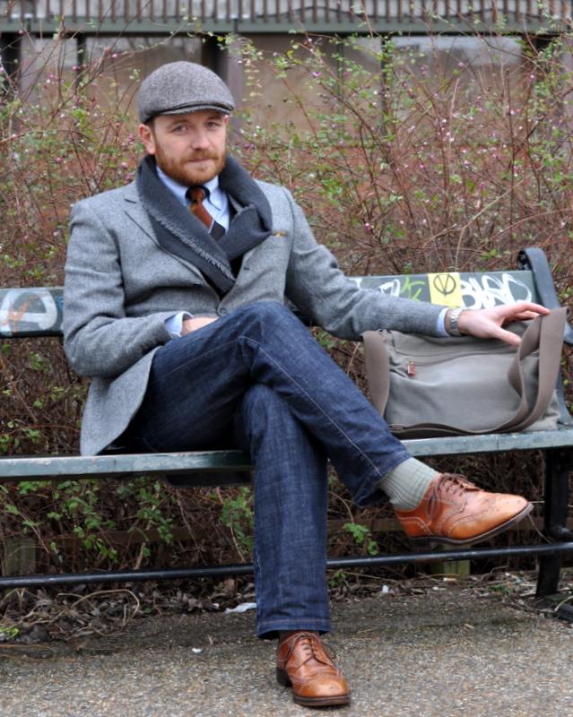 Jeans-Tweedjakke-Stiljournalen