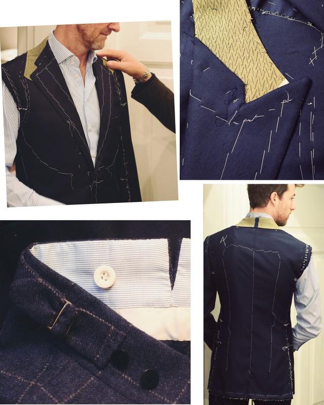 Skræddersyede jakkesæt fra Italien og Guida