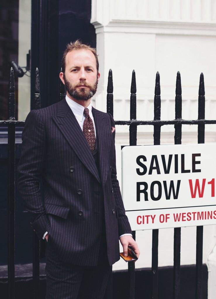 PÅ Savile Row. Her Davide Taub