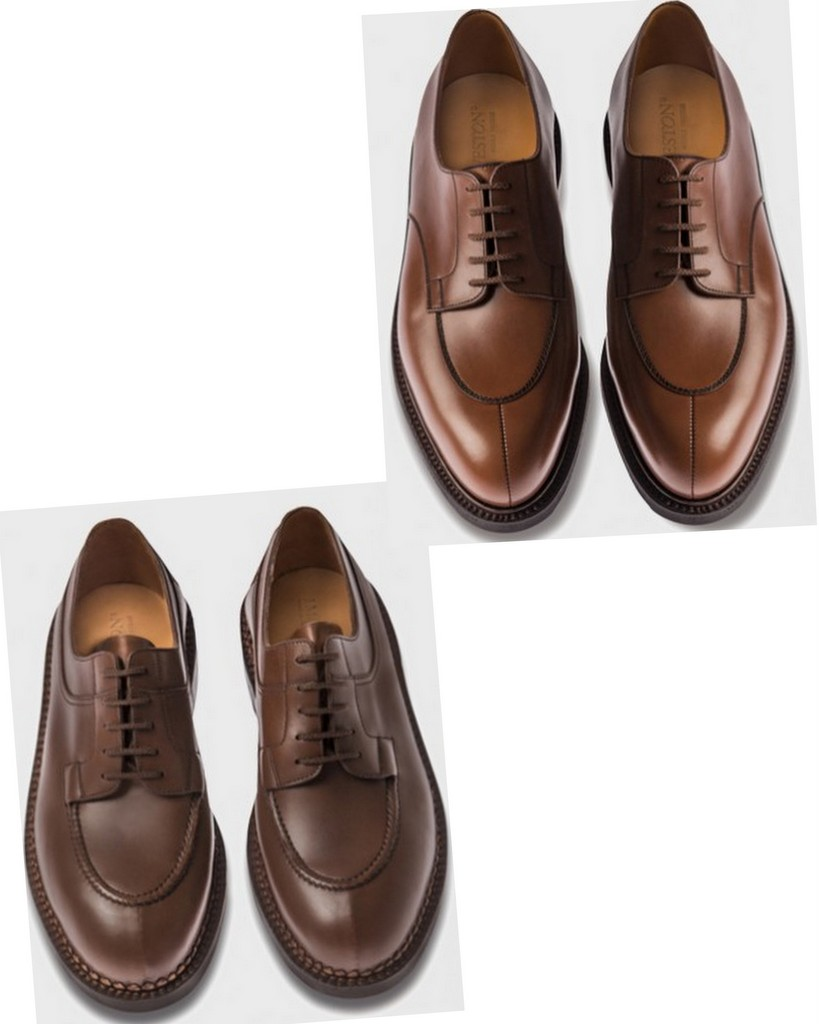 j_m_weston chasse demi_chasse-brown shoes