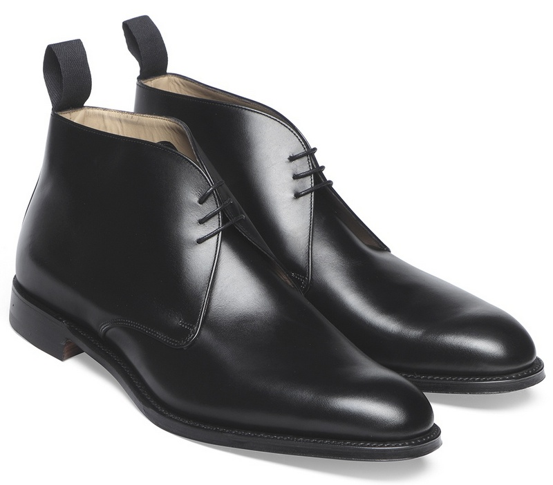 cheaney shadwell chukka boots sorte