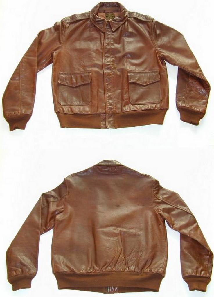 a-2 pilot-jakke bronco original