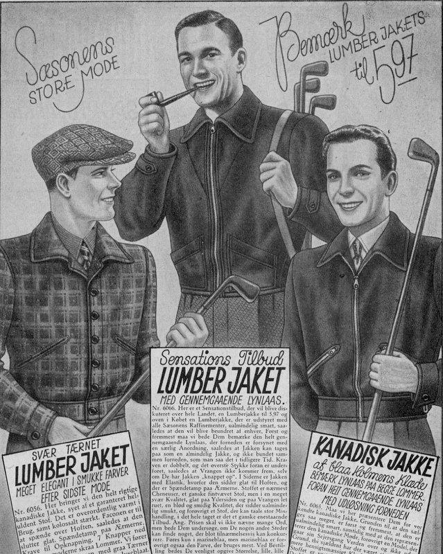 Bulldog-Magasin-1938-Lumberjacket-Stiljournalen