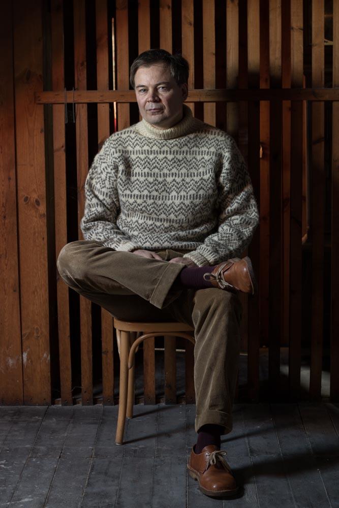 Islænder og islandsk sweater