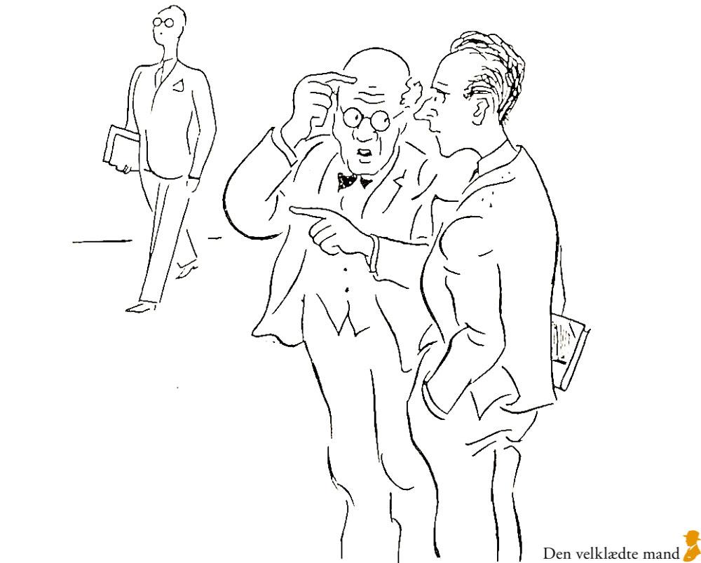 hakon stangerup i Adam om tøj 1941
