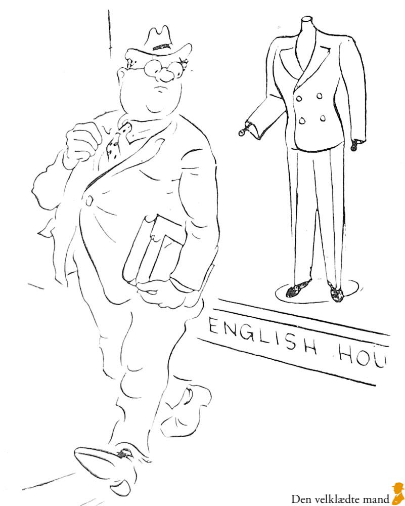 hakon stangerup og tøj i magasinet Adam