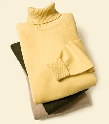 rullekrave herremode pullover