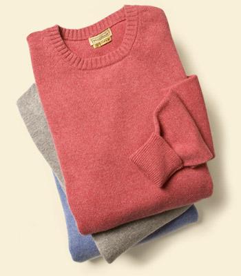 pullover crew neck
