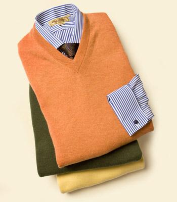 pullover v hals