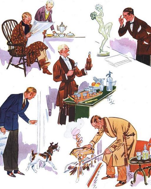 Esquire-Slåbrok-1930erne-herremode-Stiljournalen