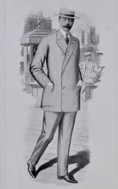 jakkesæt varierede