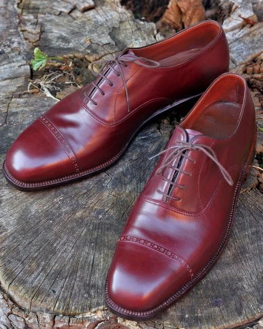 manden med den røde sko