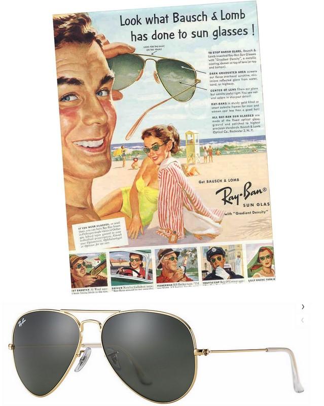 klassiske solbriller til mænd pilotbriller