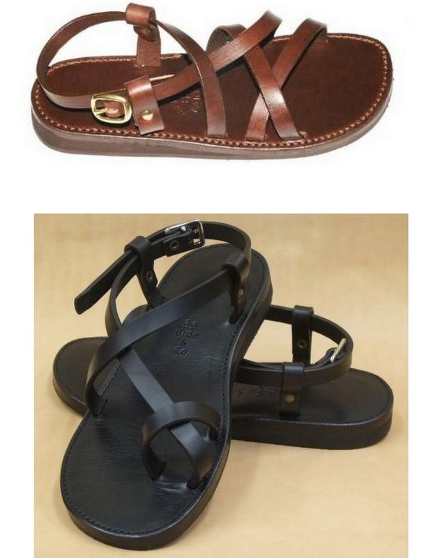 jesus sandaler læder