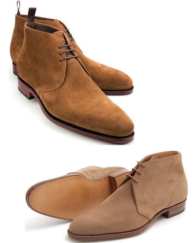 Chukka-boots-Carmina-Edward-Green-Stiljournalen