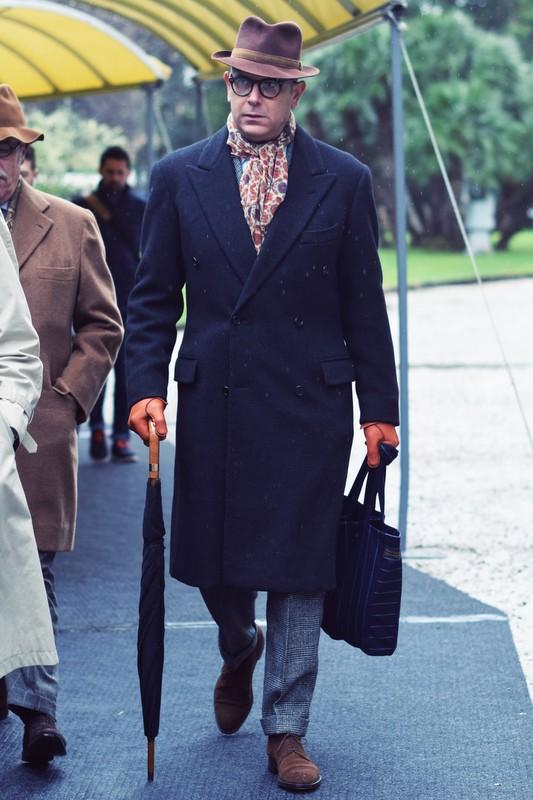Frakke-elegant-mand-Pitti-Uomo-Stiljournalen