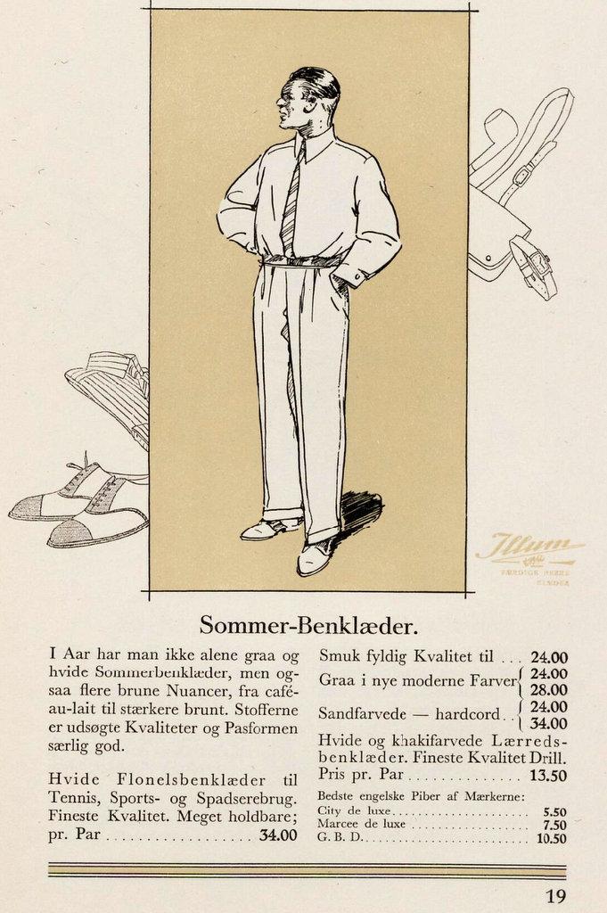 Herremode_Afslappet_tøj_Illum_1928_forår_Den_velklædte_mand