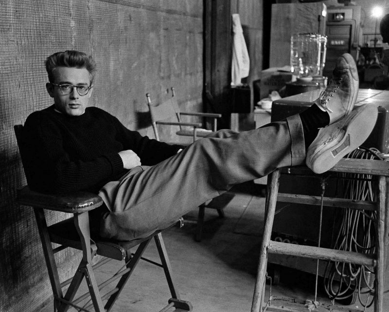 James Dean i sneakers