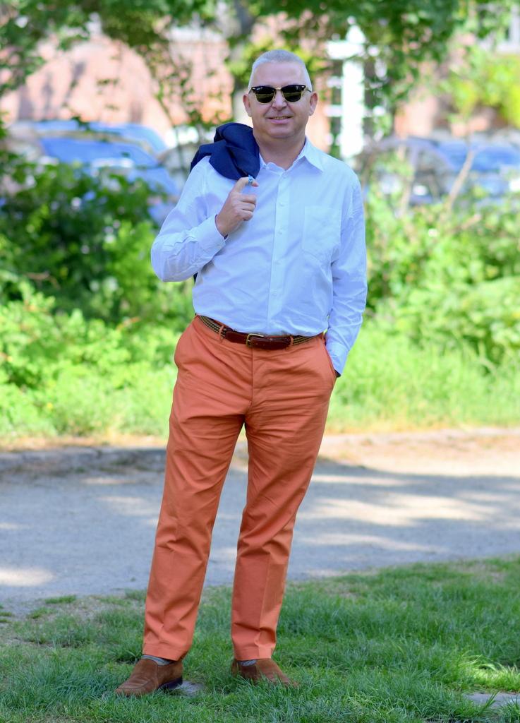 Orange_bukser_til_mænd_sommerbukser
