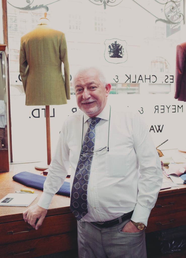 Savile Row og Malcolm Plews