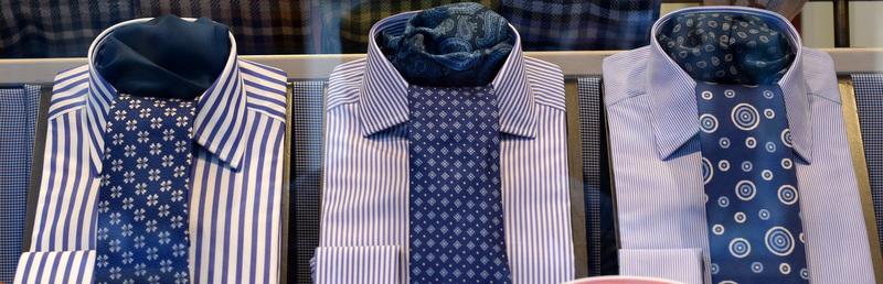 Sammensaette slips og skjorte