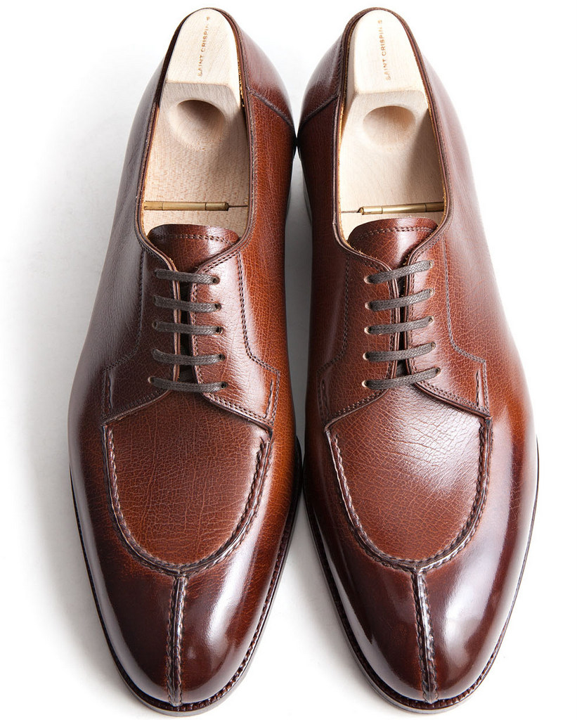 saint crispin's split-toes derby shoes