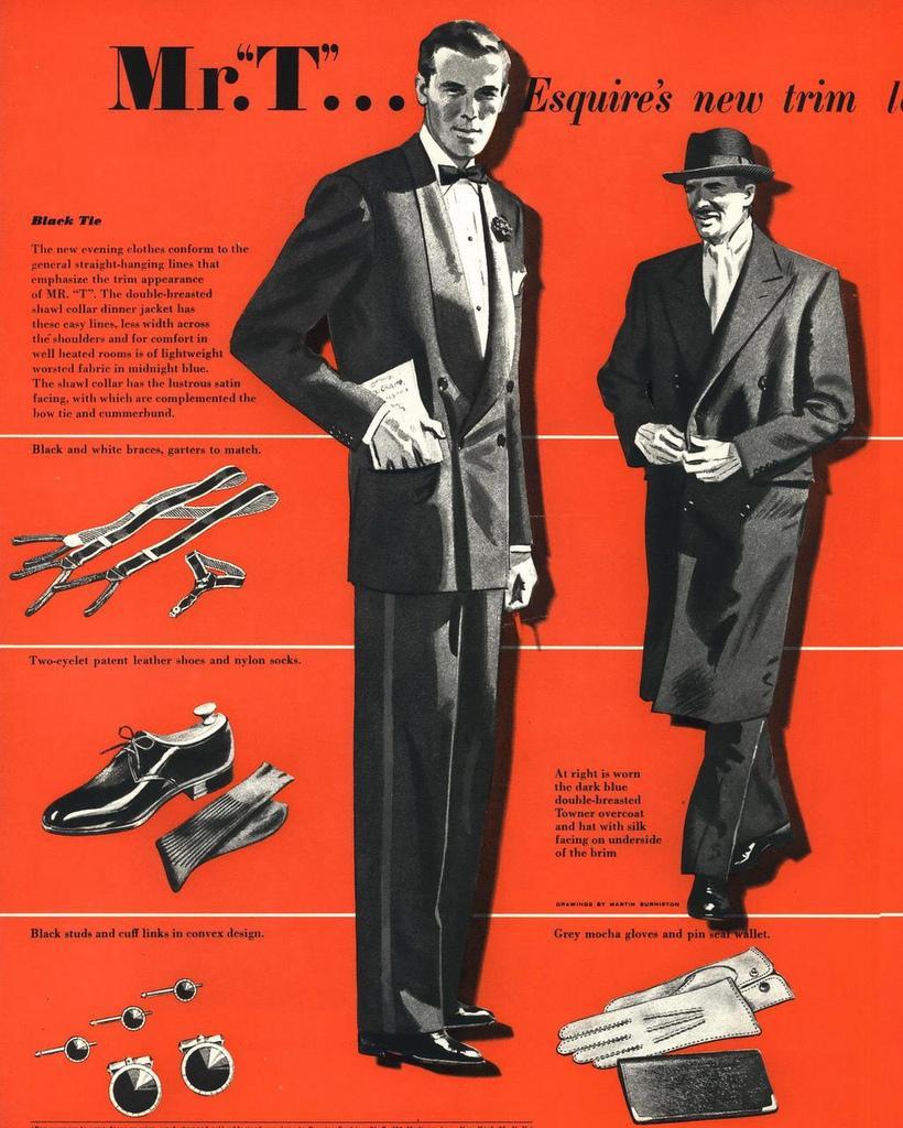Julefrokost og tøj til mænd