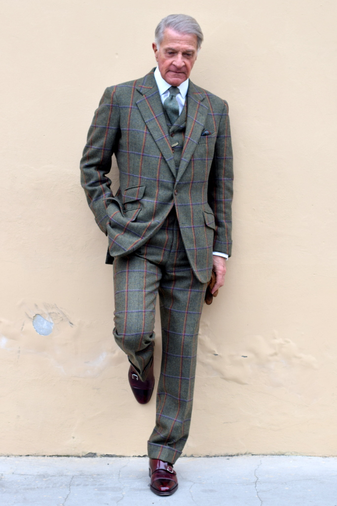 mænd med god tøjstil