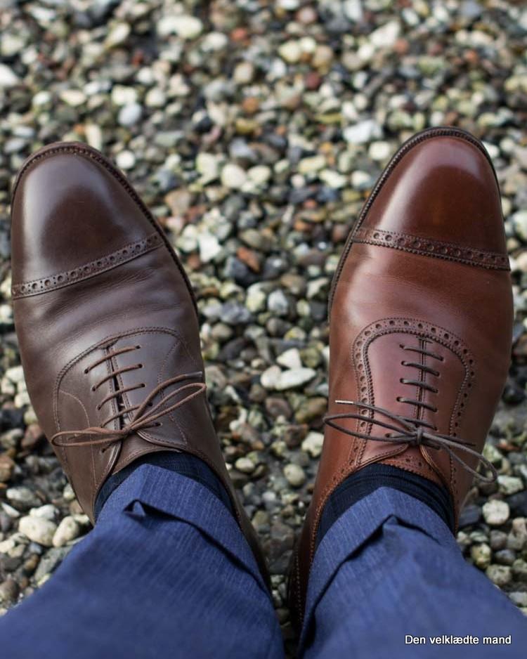 2037928c4566 Vælg de rigtige flotte sko - Den velklædte mand