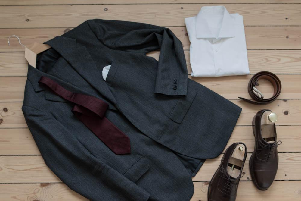 klassisk jakkesæt og klassisk forretningstøj