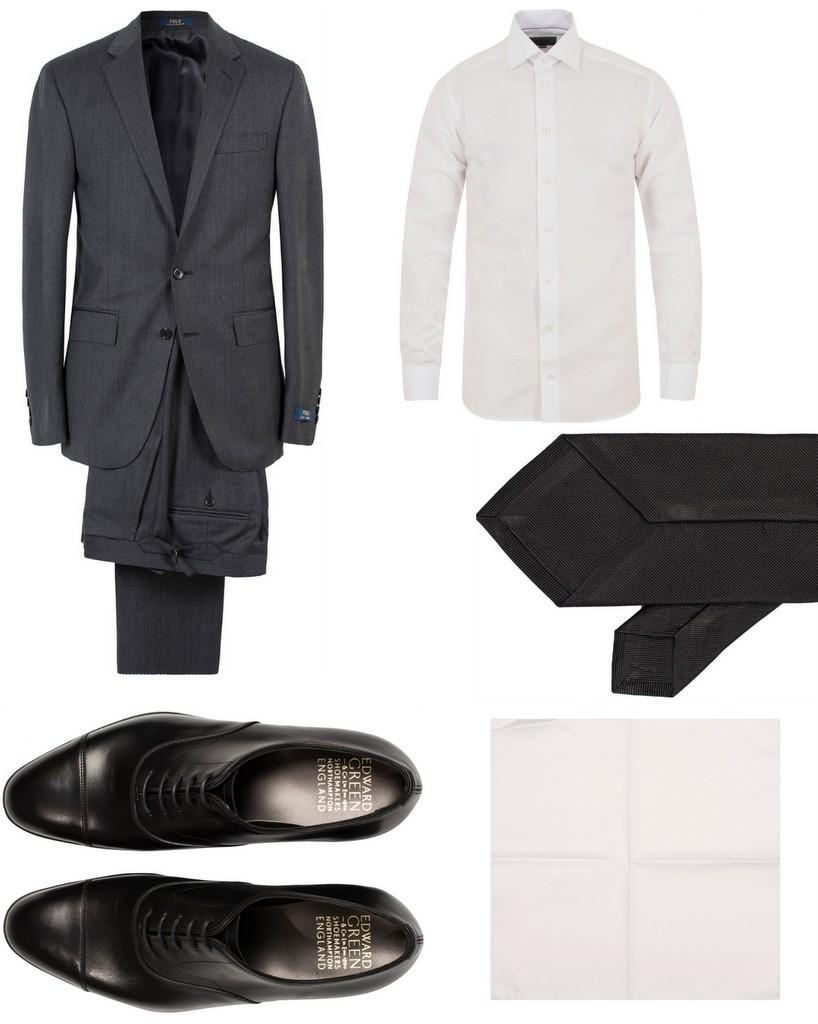 tøj til bryllup koksgråt jakkesæt