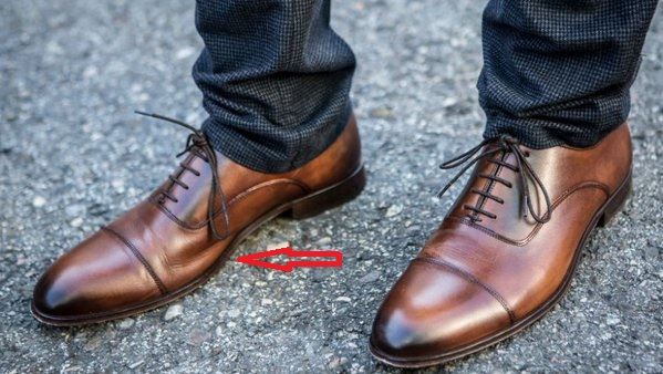 tøjfejl sko
