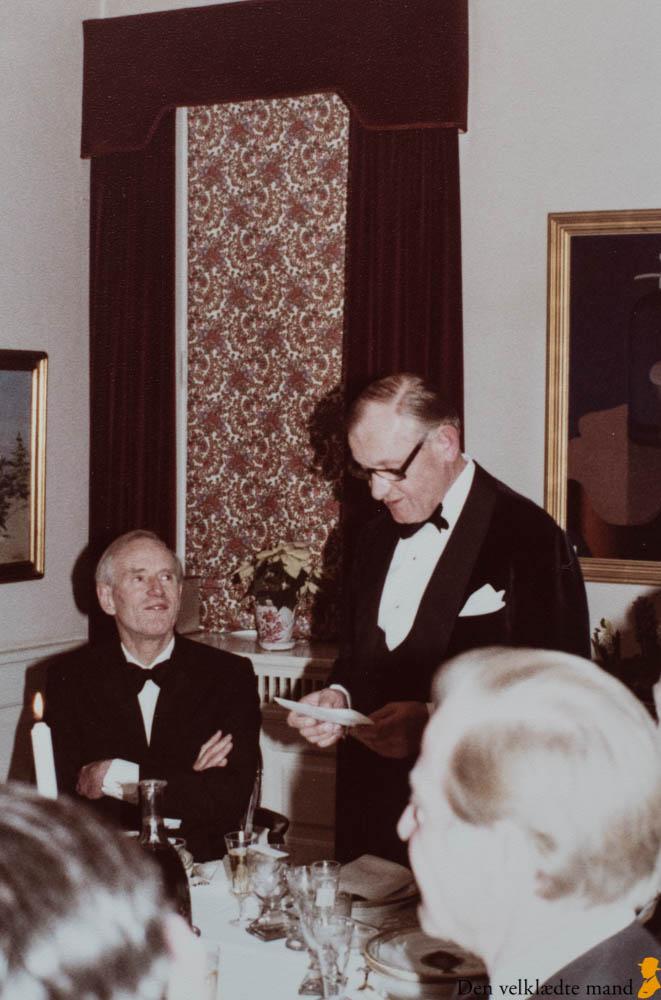 skrædder alfred alm holder tale i 1978