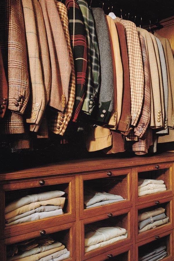 opbevaring af skjorter