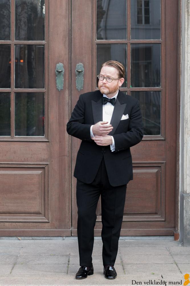 Jimmy Damgaard Poulsen i smoking