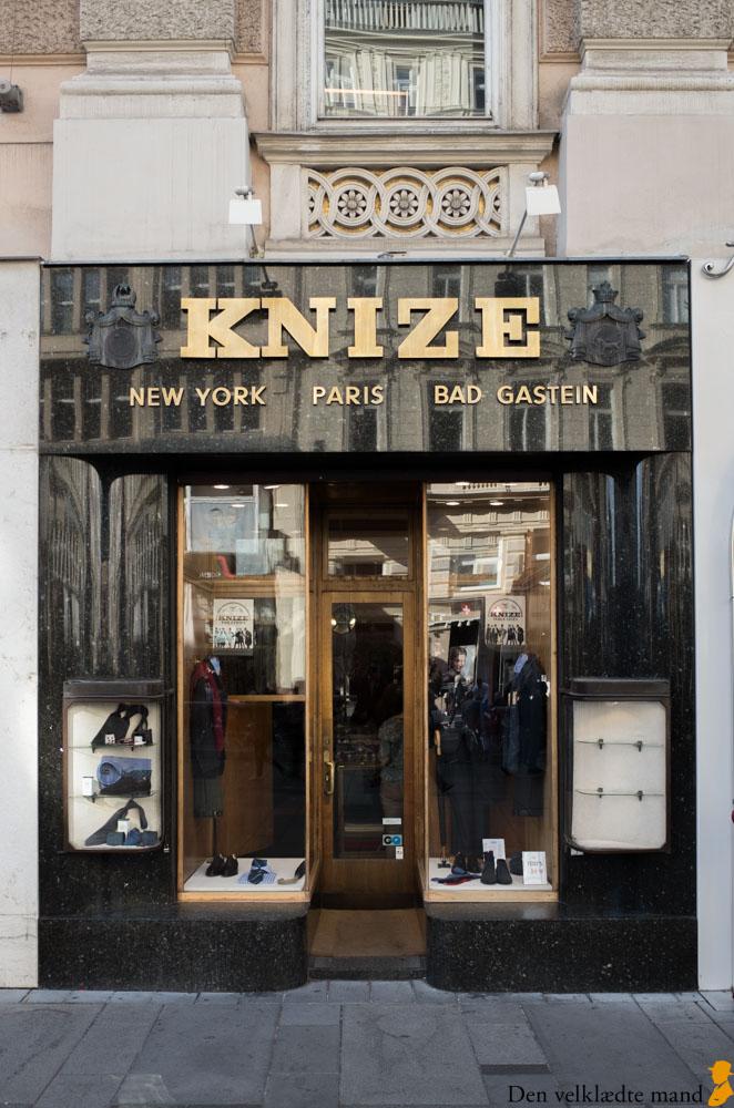 Knize - fint tøj til mænd i Wien