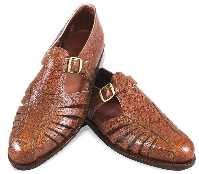håndlavede sandaler