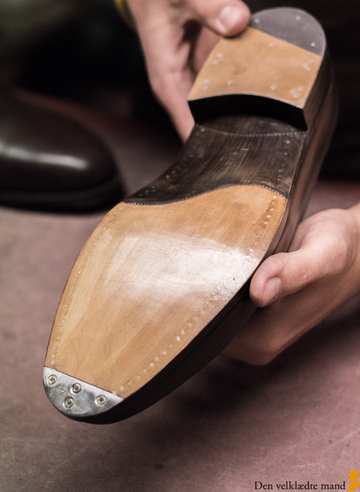 54bfa26145f Håndlavede sko – trænaglede – hos Materna i Wien