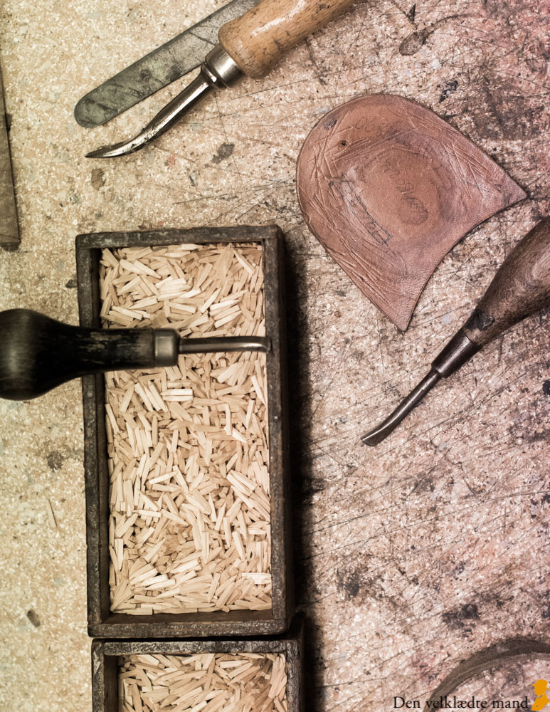 håndlavede sko træsøm