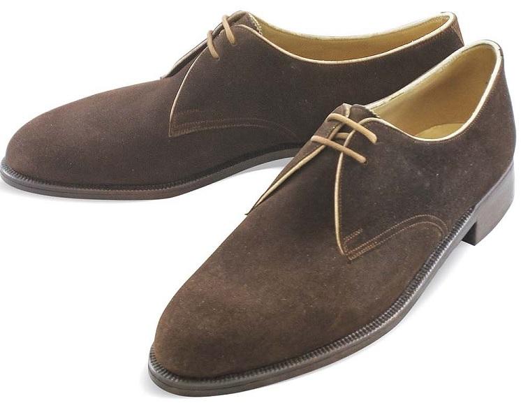59832f7ea740 Foretrukne Håndlavede sko - trænaglede - hos Materna i Wien - Den velklædte  mand BF42