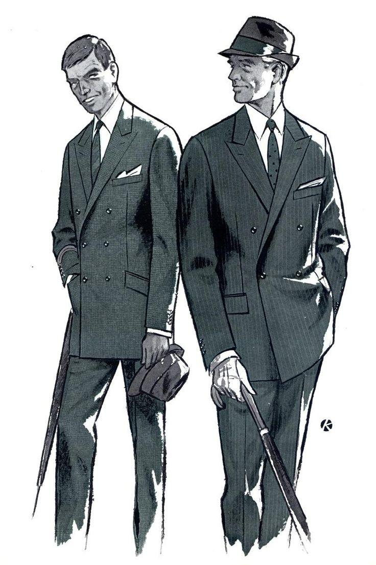 jakkesæt 1960'erne