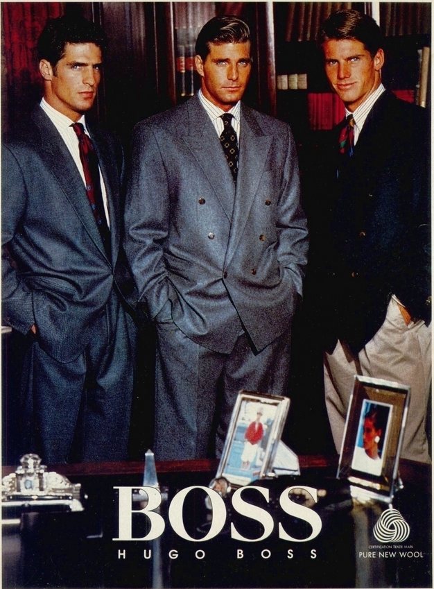 jakkesæt hugo boss 1987