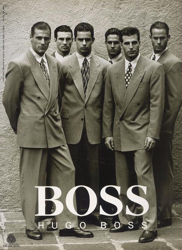 hugo boss jakkesæt i 1992