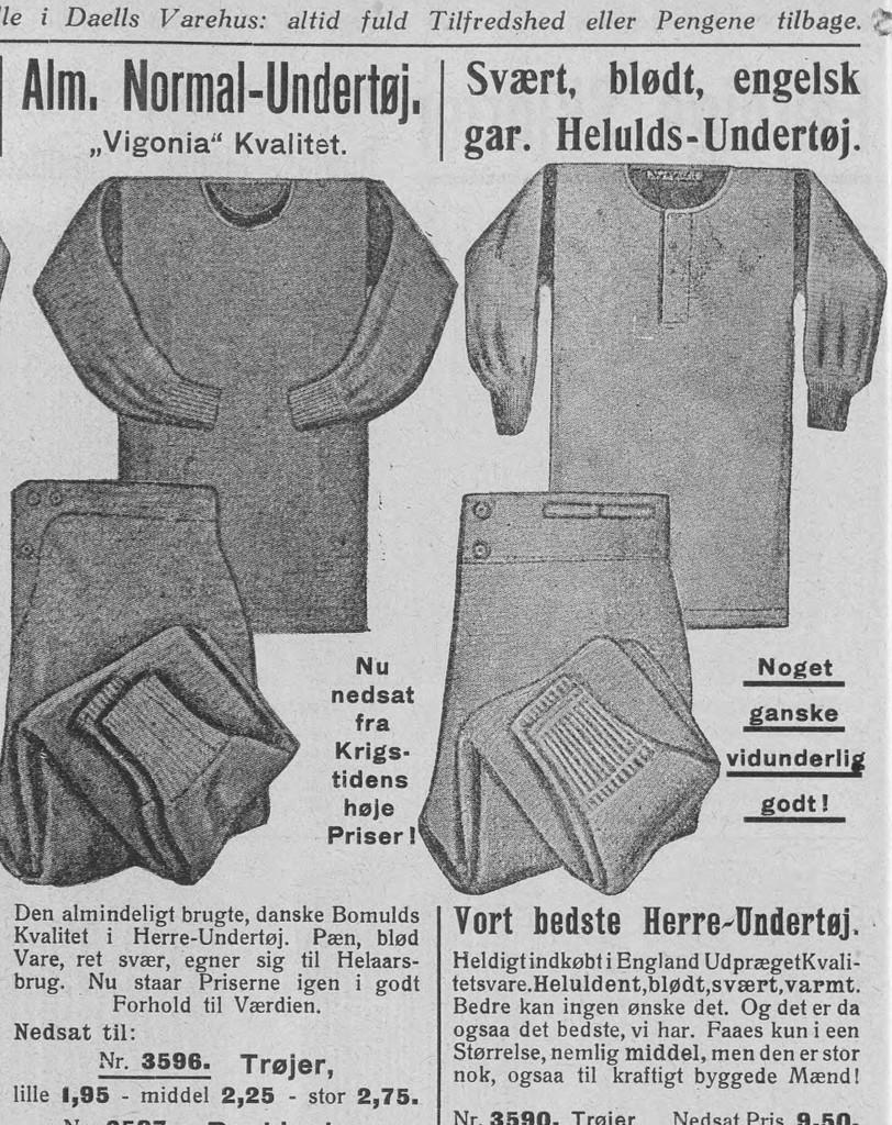 undertrøje og undertøj til mænd