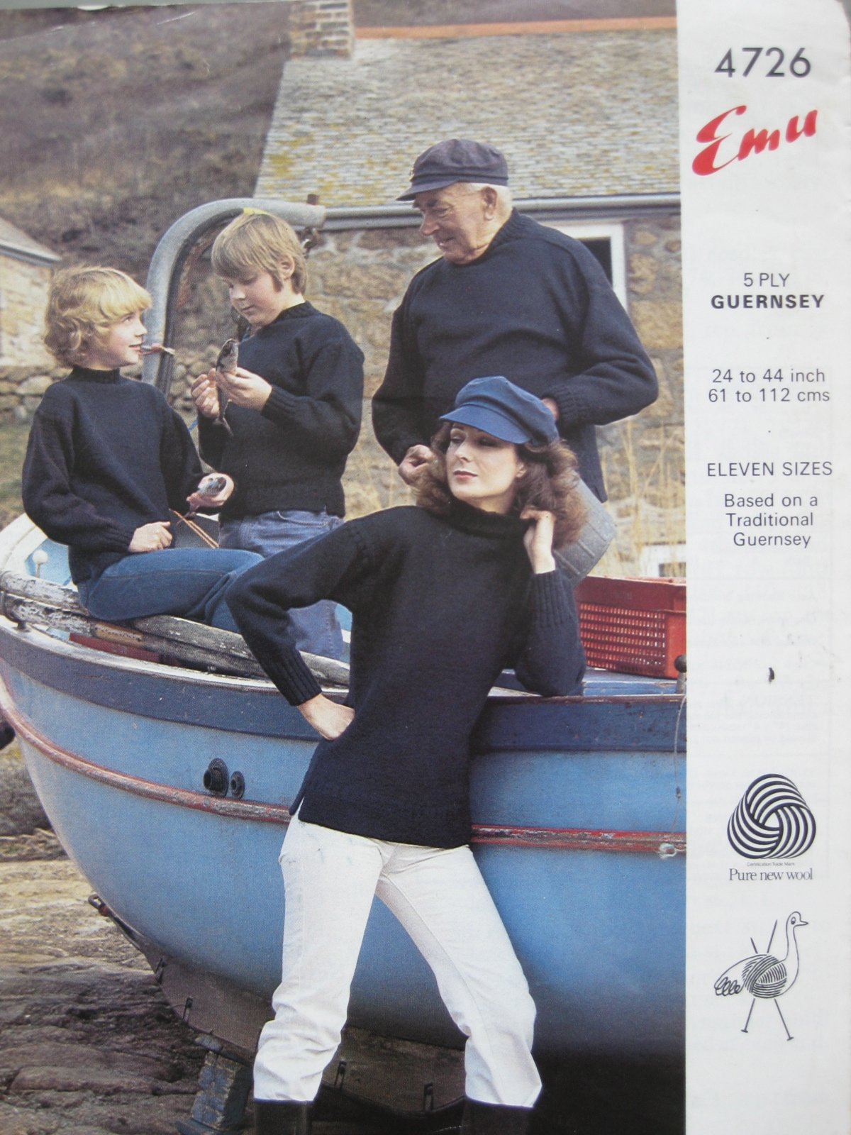 sømandssweater fra Guernsey