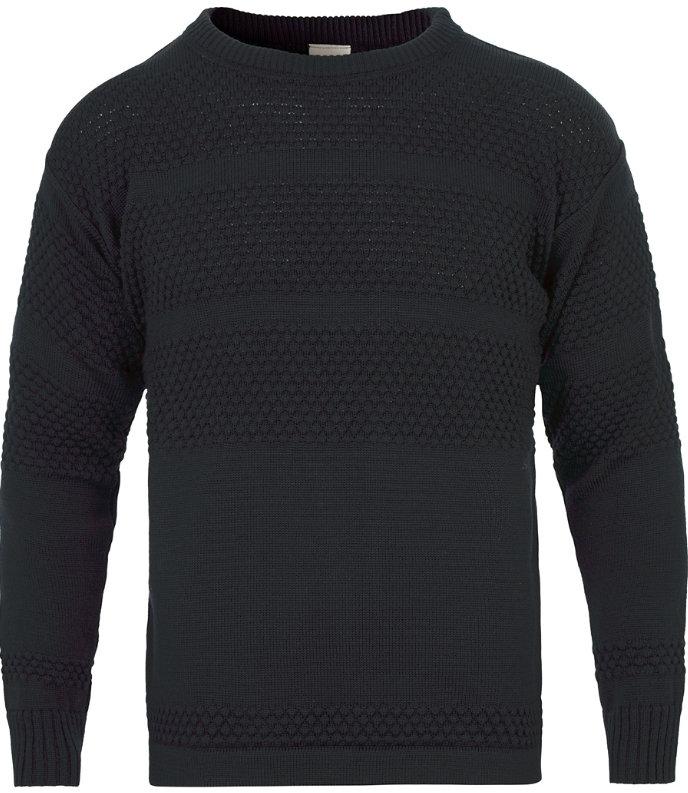 sømandssweater i uld til mænd