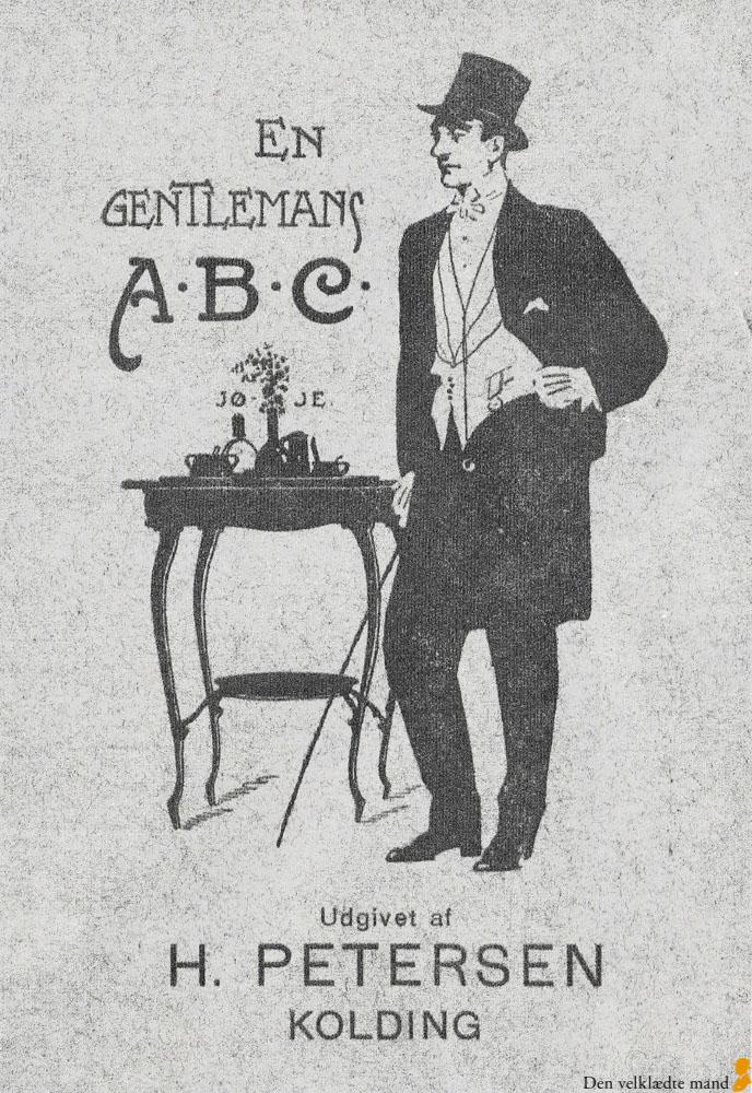 bc68679db78f Gentleman - en tøjguide til ham fra forne tider - Den velklædte mand