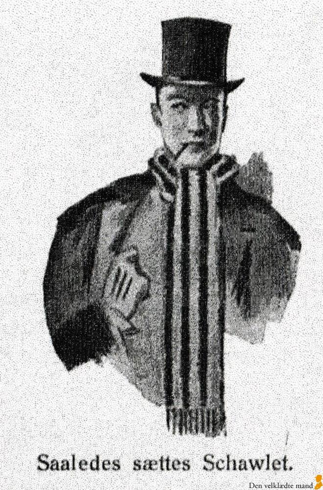 gentleman halstørklæde