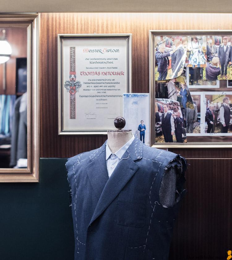 Shopping til mænd i Wien netousek skrædder